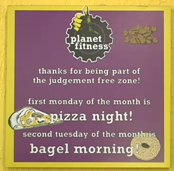 Pizza monday and Bagel Tuesday