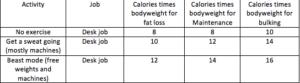 macros fitness