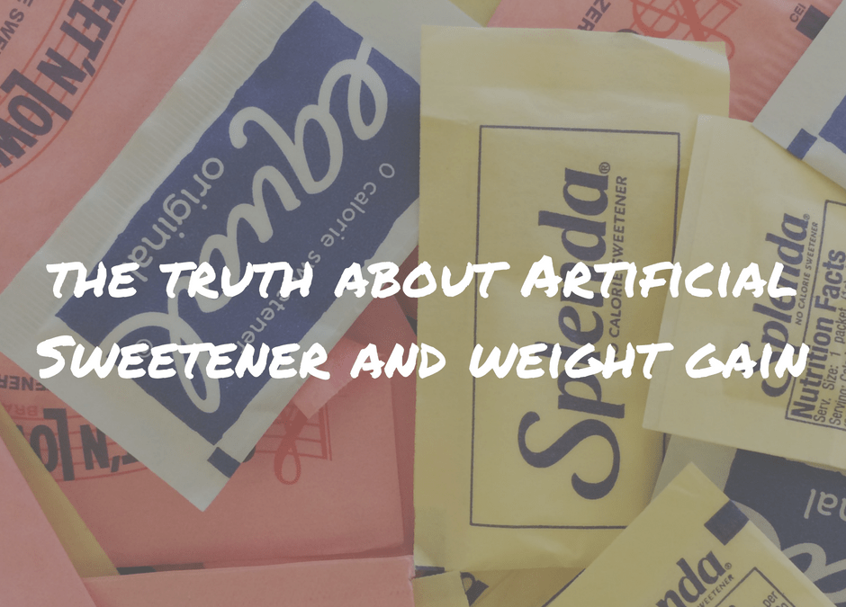 The Truth About Artificial Sweetener and Weight Gain