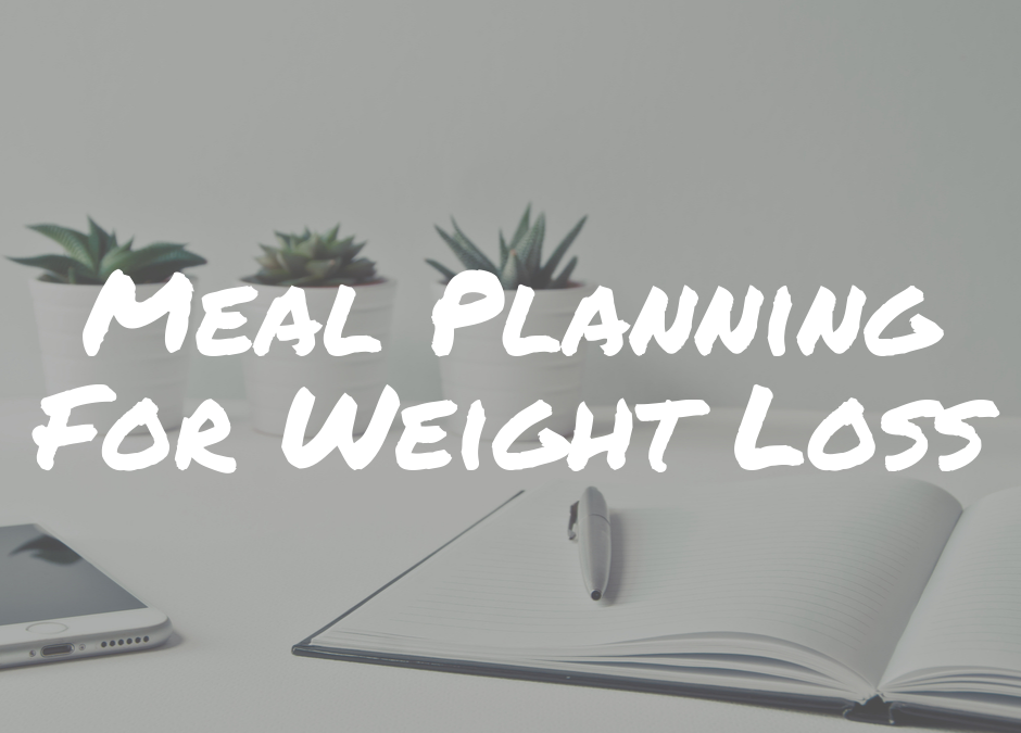 Meal-planning-weight-loss-journal