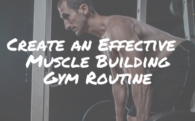 Create an Effective Muscle Building Gym Routine
