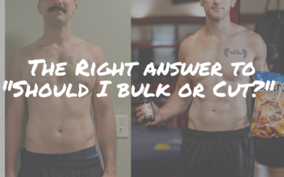 """The Right Answer to """"Should I Bulk or Cut?"""""""